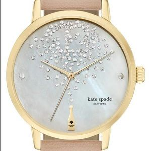 ♠️Kate Spade♠️ champagne at midnight metro watch